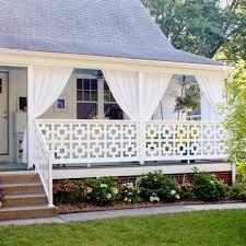 porch curtains ideas inspiration mellanie design