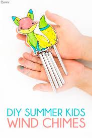 diy wind chimes for kids summer craft idea darice