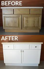 Bathroom Cabinet Refacing Before And After by Orlando Cabinet Refacing Reface Supplies