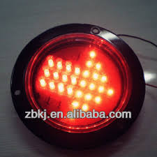 4 inch round led tail lights 4 inch round led tail stop light led truck turn signal lights 28