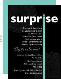 cheap surprise birthday invitations invite shop
