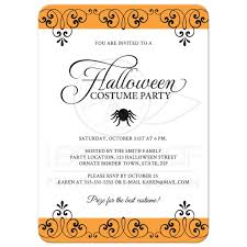 halloween party invitations the kindergarten all stars birthday