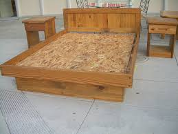 Oak Platform Bed Uhuru Furniture U0026 Collectibles Sold Queen Oak Platform Bed 100