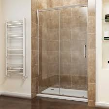 Sliding Shower Screen Doors Screen Cubicle 8mm Easy Clean Sliding Shower Doors