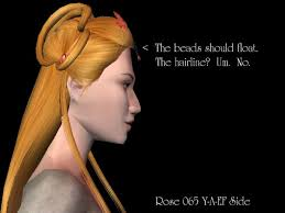 hairstyles for foreheads that stick out on a woman please fix some gapped up rose hair meshes