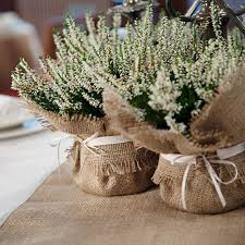 Creative Bridal Table Decorations Flowers