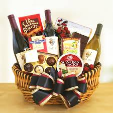 gourmet cheese gift baskets california creations wine gift basket hayneedle