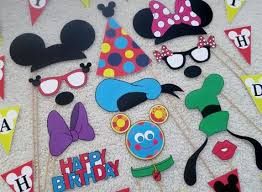mickey mouse photo booth mickey mouse birthday party photo booth prop mickey mouse