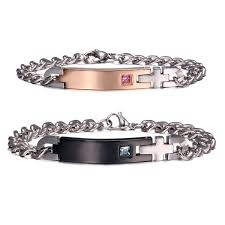 his and hers engraved bracelets his and hers bracelets custom made jewelry amorfeel