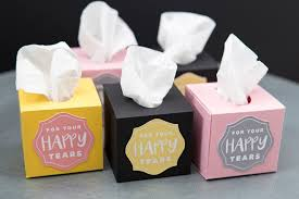 wedding boxes these mini wedding tissue boxes are a must make diy project