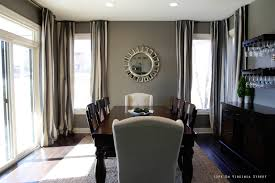 grey walls magnolia wreath and french doors on pinterest dining