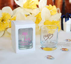 personalized candle wedding favors personalized glass party favors 0 78