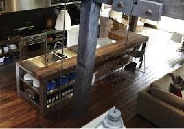 industrial style kitchen island stainless steel kitchen island rustic industrial kitchen island