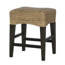 hammary hidden treasures 24 in woven backless counter hammary 090 588 hidden treasures woven counter stool in dark brown