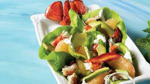 avocat cuisine grilled lobster avocado and pink grapefruit salad iga recipes