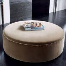 Circle Ottomans Large Ottomans Foter