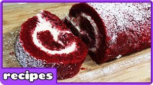 red velvet cake recipe cake roll homemade easy dessert easy