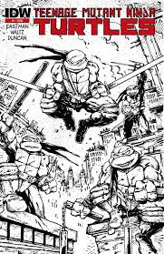 debut teenage mutant ninja turtles comic sells u2013 idw publishing