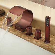 Oil Rubbed Bronze Faucet Bathroom Adorable Oil Rubbed Bronze Bathroom Fixtures With Contemporary