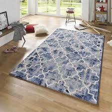 teppiche design design teppich elegance blau creme 102439 teppiche design teppiche