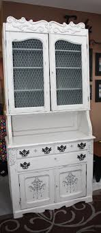 French Country Buffet And Hutch by Shabby French Country Buffet Hutch Redesigned With Homemade Chalk
