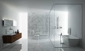 Clear Bathtub Bathroom Wonderful White Marble Wall Master Bedroom Ideas Using