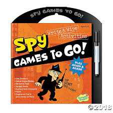 101 games pattern riddle spy games to go