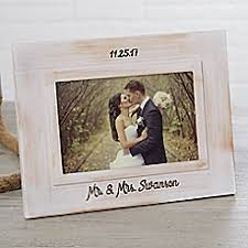 Personalized Wedding Photo Frame Personalized Wedding Picture Frames U0026 Photo Albums Bed Bath U0026 Beyond
