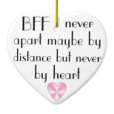 bff by best friends forever ceramic ornament zazzle