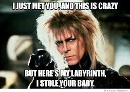 Maybe Meme - the labyrinth call me maybe weknowmemes