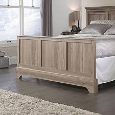 Bedroom Furniture By Lane Barrister Lane Salt Oak Queen Footboard 419372 The Home Depot