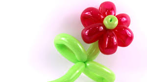 tutoriel 14 la fleur basic balloon flower la flor youtube