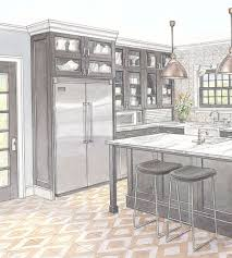 Kitchen Cabinet Refrigerator Built In Refrigerator Better Homes And Gardens Bhg Com