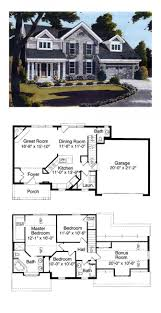 colonial house plans siex classic farmhouse designing luxihome