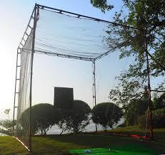 golf practice net mat portable backyard driving range chipping