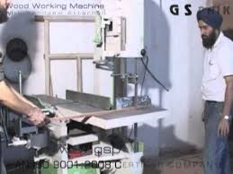 vertical wood cutting bandsaw attachment www gspaik com ludhiana