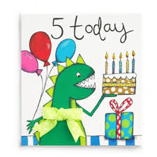 5 today handmade 5th birthday card 2 60 a great range of 5