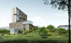 Architecture Home Design Chinese University Of Hong Kong Shenzhen Campus Master Plan