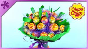lollipop bouquet diy chupa chups lollipop bouquet for children s day eng subtitles