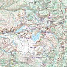 Oregon Road Map by Washington Road U0026 Recreation Atlas U2014 Benchmark Maps