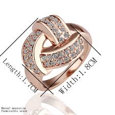 beautiful rings designs images Evjz18k 7 new design fashion18k rose gold plated beautiful rings jpg