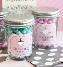 jar baby shower baby shower mini jars