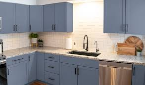 painting my kitchen cabinets blue best paint color for kitchen cabinets