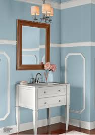 Behr Kitchen Cabinet Paint Update Your Victorian Style Bathroom With Behr Paint In Snowmelt