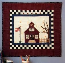 school days quilted wall hanging pattern howstuffworks
