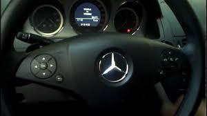 mercedes benz c class w204 2009 reseteo con volante multifunción