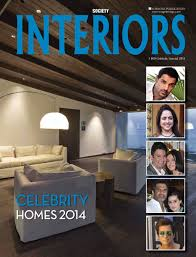 society interiors u0027 celebrity homes 2014 special now on stands