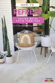 Best Spray Paint For Metal Patio Furniture - 22 best inwiththeold images on pinterest rusty metal spray
