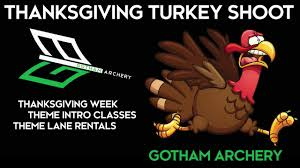 gotham archery thanksgiving turkey shoot
