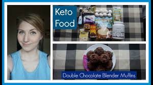 Keto Cheesecake Fluff by Eating Keto 116 Double Chocolate Blender Muffins Youtube